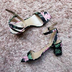 NEW Unisa Floral Heel Sandal 🌸